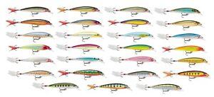 Rapala-XR08-X-Rap-08-Medium-Diving-Jerkbait-Bass-Walleye-amp-Pike-Fishing-Lure