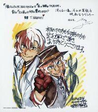 KADOKAWA BUNGO STRAY DOGS Osamu Dazai 13cm toy Card mini shikishi Japan anime 10