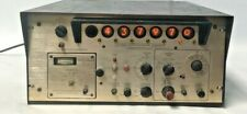 Vintage General Radiotelephone Frequency Counter Generator Withnixie Tubes