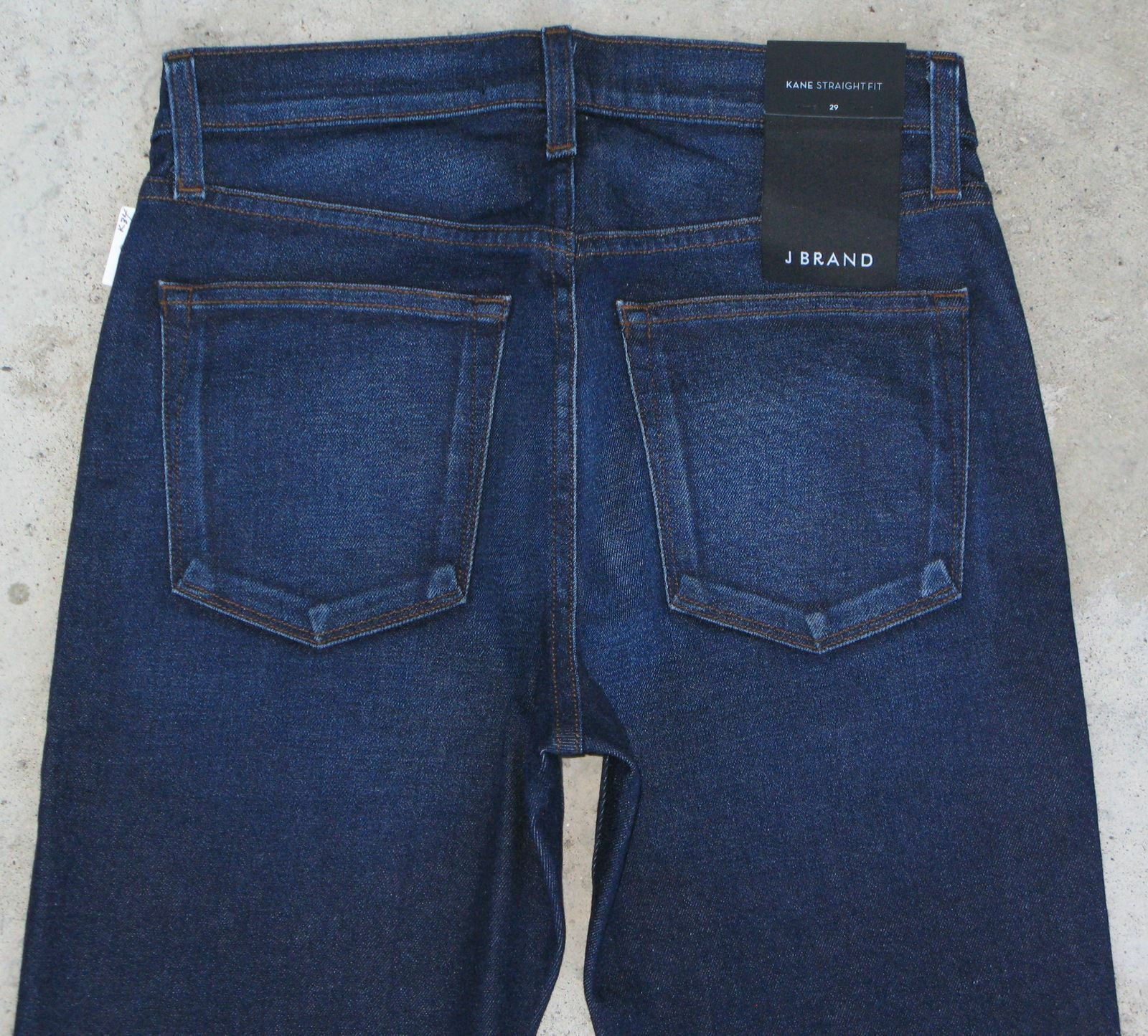 J Brand Men Jean Kane Slim Straight Sz 29 x 34 Dark bluee Stretch Denim NEW