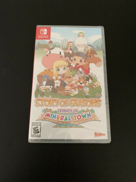 Story of Seasons: Friends of Mineral Town for Switch NEW Fast US Shipping