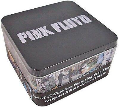 Posavasos set x12 Tapas LP de Pink Floyd en caja de presentación   (hb)