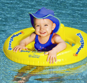 Learn To Swim Pool Baby Seat Ring Toddler Float Tube Swimming Inflatable Rider Ebay