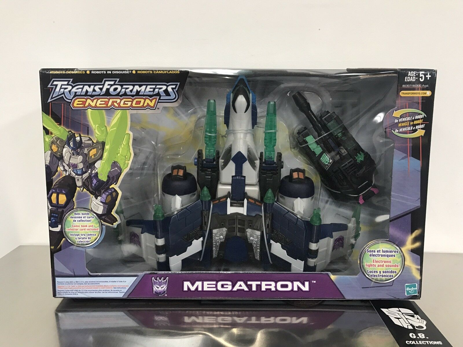 Transformers Energon Megatron Megatron Megatron Leader Class New Sealed a03f35