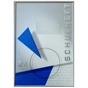 25 x Premium Schulheft Din A4 16 Blatt Lineatur 27 liniert Doppelrand Schulhefte