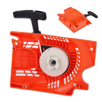 Generator Pull Recoil Starter For Chainsaws 4500 5200 5800 52cc 58cc 45cc Orange
