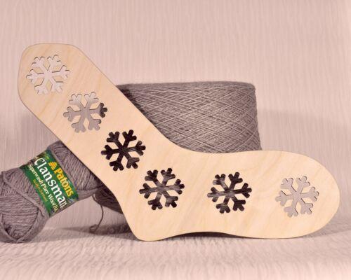 Bloqueador de calcetín de madera adulto tamaño de Reino Unido 5-7