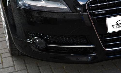 Audi Tt Type 8j 2006-2010 Chrome moulure pour calandre bas Extérieur 3 m