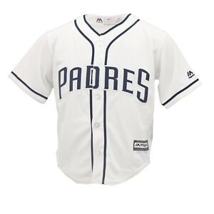 b885d6cb363 San Diego Padres Genuine MLB Majestic Cool Base Youth Kids Size ...