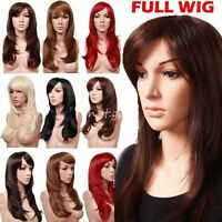 Newest Daily Layered Hair Wig For Sale Full Head Medium Long Wigs 6 Colors G0