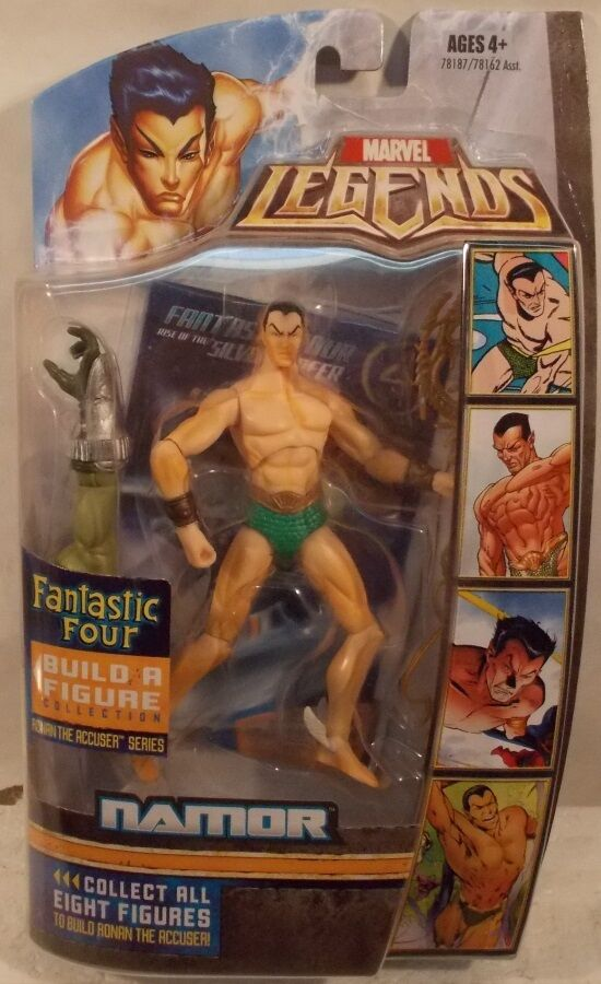 Hasbro Marvel Legends Fantastic Four  Ronan  Series - Namor Sub Mariner (MOC)
