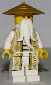 Lego Ninjago Minifigure Sensei Wu Golden outfit from 70751
