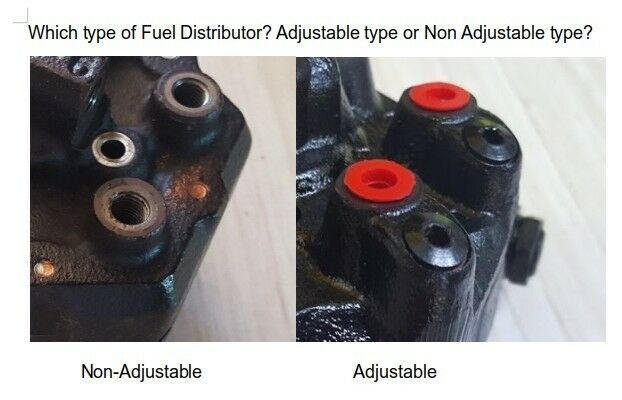 0438100114 Fuel Distributor 6cyl Cast Iron Adjustable type Repair Kit