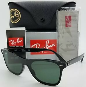 14862afb8cb Image is loading NEW-Rayban-Blaze-Wayfarer-sunglasses-RB4440N-601-71-