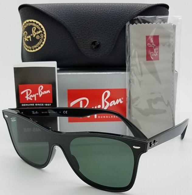 NEW Rayban Blaze Wayfarer sunglasses RB4440N 601/71 Black Green RB4440 AUTHENTIC