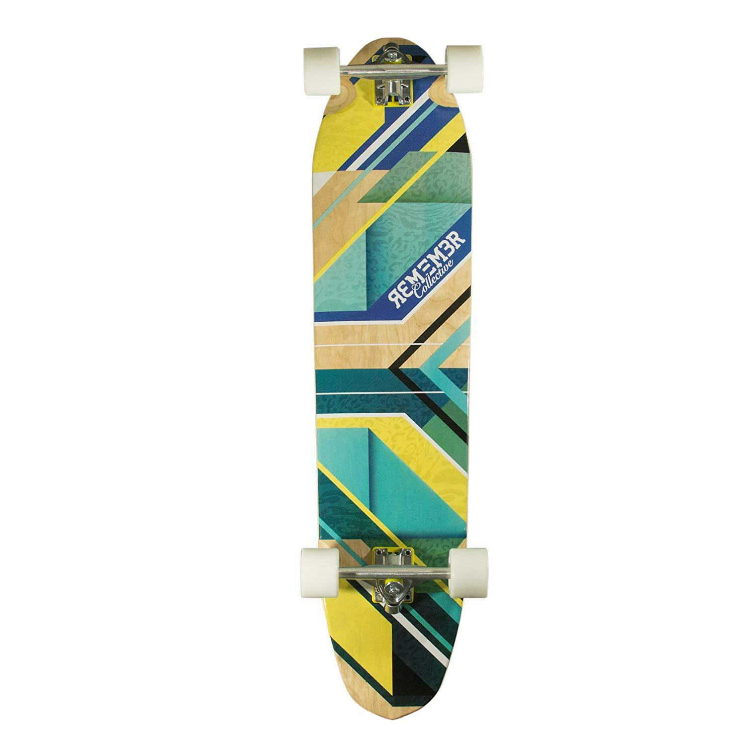 Remember Collective RBD026C Panthera Longboard Cruiser Complete box 13