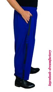MYO-Lagenlook schmale Ballonhose Jogpants Print ROYAL 42 44 46 48 50 52 54 56
