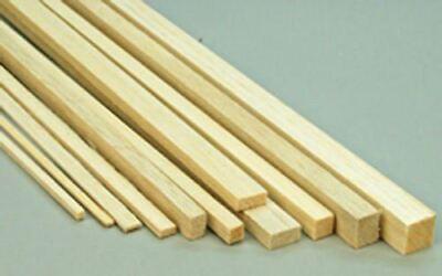 Preciso Wws Balsa Wood Strips 6.5 X 6.5 X 305 Mm (1/4 X 1/4 X 12 Inch) - 45 Pack Vendita Calda 50-70% Di Sconto