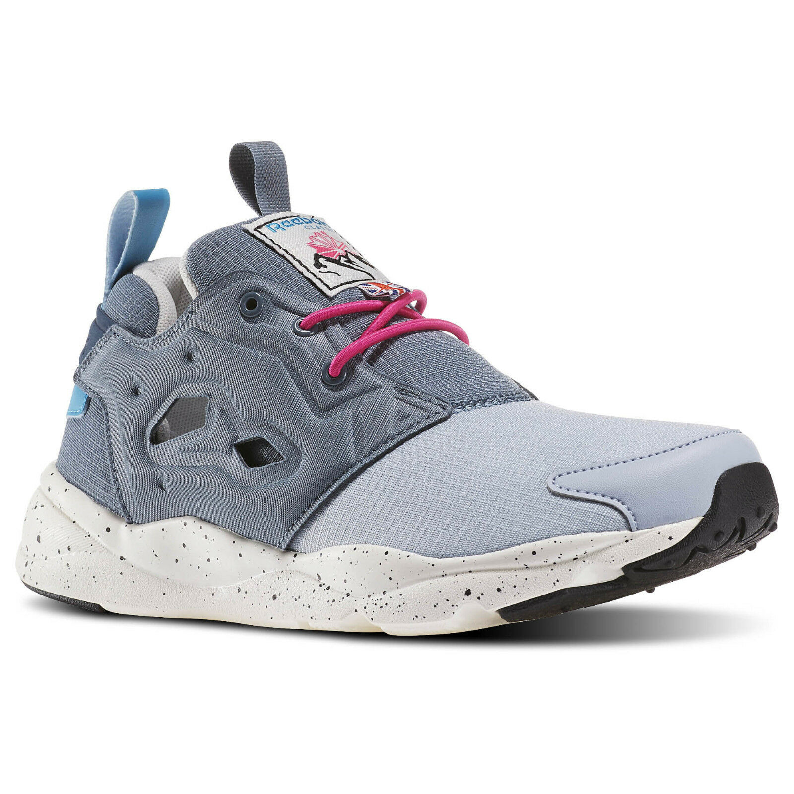 Reebok tenis furylite fuera Color gris Baja ZapatilDe mujer Zapatos BD1576 Nuevo