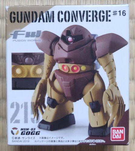 Bandai Japan FW Fusion Works Gundam Converge Action Figure