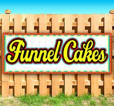 Funnel Cakes Advertising Vinyl Banner Flag Sign Many Sizes Fair Carnival Food