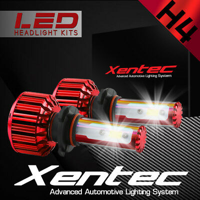 XENTEC LED HID Headlight Conversion kit H4 9003 6000K for Nissan 240SX 1995-1996