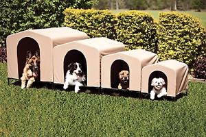Portable Dog House Outdoor Haustier Kennel für große Hunde Zerfall Leichtgewicht