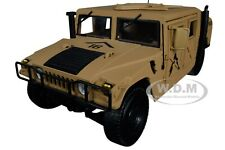 fusil M16 US Army HUMMER H1 desert MILITARY POLICE 1//18
