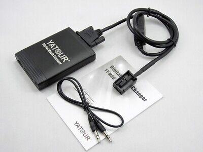 USB SD AUX en adaptador mp3 cambiador compatible con Mazda 6 Sport 2005-2009