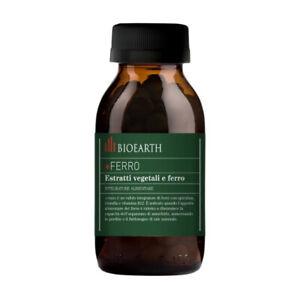 Integratore di ferro con spirulina e vitamina B12 +FERRO Bioearth 90 Compresse