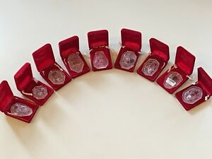 waterford 12 days of christmas ornaments (1987-1995) | eBay