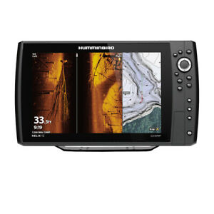 Expedited Delivery! Humminbird HELIX 12 CHIRP MEGA SI Fishfinder/GPS Combo