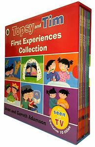 Topsy-and-Tim-Stories-10-Books-Set-Collection-Learn-To-Swim-Play-Football