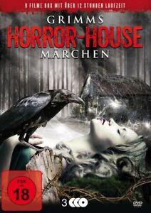 9-Film-Grimms-Horror-Marchen-Sleeping-Beauty-Bianco-Neve-Hansel-Gretel-Box-DVD