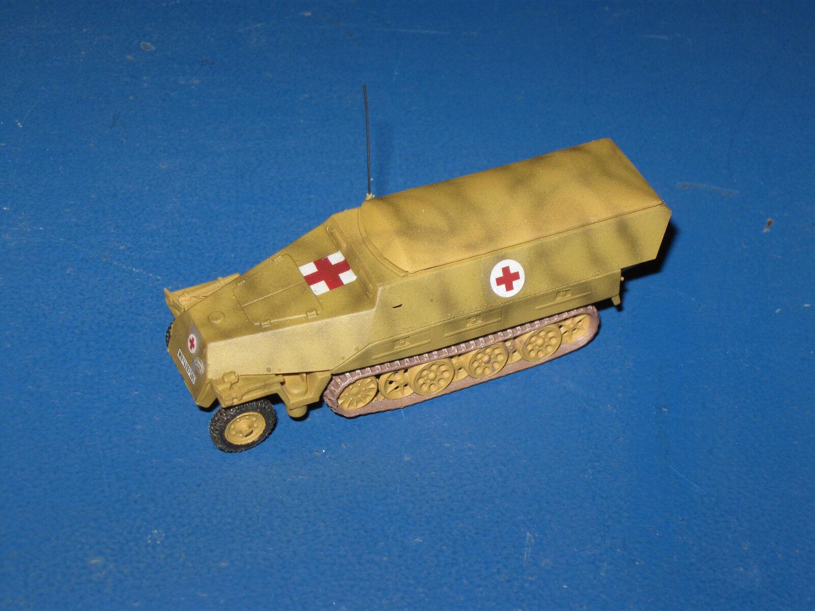 SD. KFZ 251 8 ejec. d medianas medianas medianas Semicarriles 1 87 h0 Trident mini Tank WK II 1be718