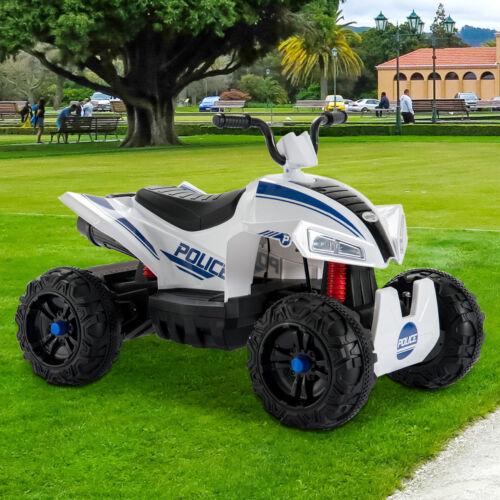12V Kids Ride On ATV Car Quad Electric 4 Wheeler Toy W/ Led Headlights 2 Speed