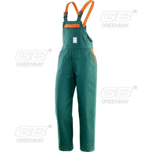 SAFETY WORKING TROUSERS ANTI-CUT PROTECTIVE BIB AND BRACE CHAIN-SAW PROTECTION