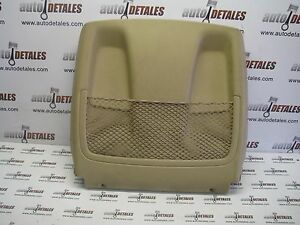 Mercedes-ML-GL-class-W164-X164-front-seat-backrest-back-panel-used-2008