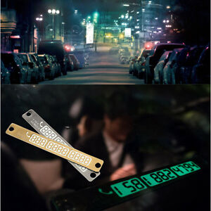 1Pc-Car-Parking-Card-Telephone-Number-Card-Notice-Night-Florescent-Sucker-Plate