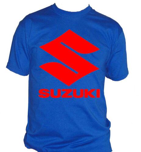 fm10 t-shirt uomo SUZUKI LOGO anche in altri colori chiedi moto SPORT