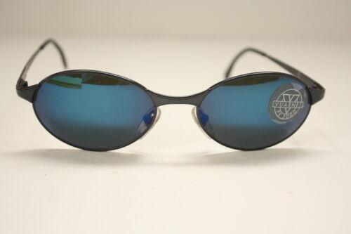 NEW Vintage Vuarnet Sunglasses PX3000 Flashblue-silver Gunmetal Frame 055 NWT