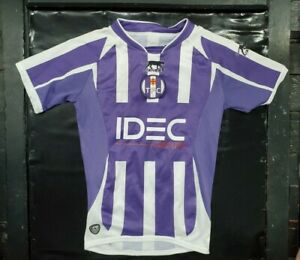 Maillot jersey trikot camiseta shirt Toulouse tfc 2008 2009 gignac enfant youth