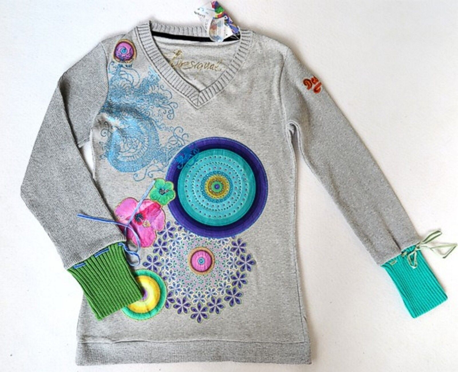 DESIGUAL Sweatshirt   TOUR    Gr. M 36  NEU