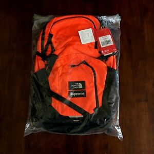 cfe4645eb Details about SUPREME THE NORTH FACE POCONO BACKPACK POWER ORANGE BLACK  FW16 BOX LOGO TNF NEW