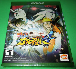 Details about Naruto Shippuden: Ultimate Ninja Storm 4 Xbox One *Factory  Sealed! *Free Ship!