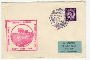 Great-Britain-Stocktown-Railway-special-cover-1965