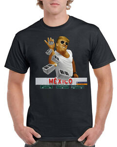 Trump Shirt Mexico T Drumpf Salt Brick Build The Wall Pitching Bae 7fgbvY6y