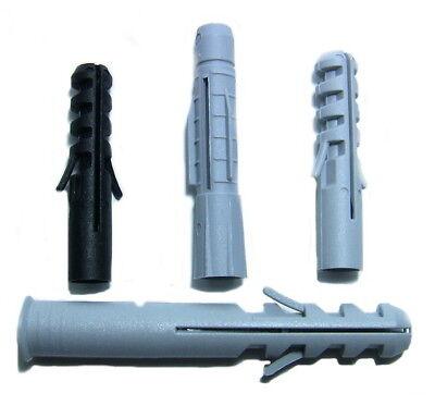 Kunstststoff Dübel Universaldübel 6-14 mm ohne Kragen Nylondübel Allzweckdübel