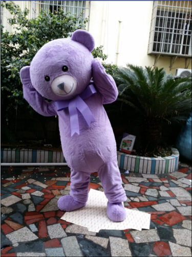 Halloween Teddy Bear Mascot Costume Birthday Cosplay Party Game Adult Size Dress
