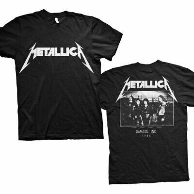 L XL Metallica t-shirt Master of Puppets talla M XXL back Print nuevo